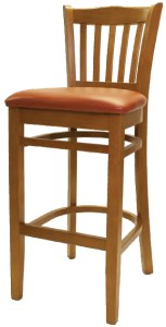 7200 Series - Steakhouse Chair with Upholstered Seat