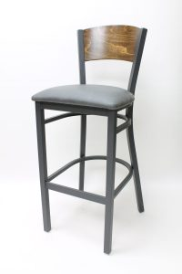 7600 Series Bar Chair with Upholstered Seat
