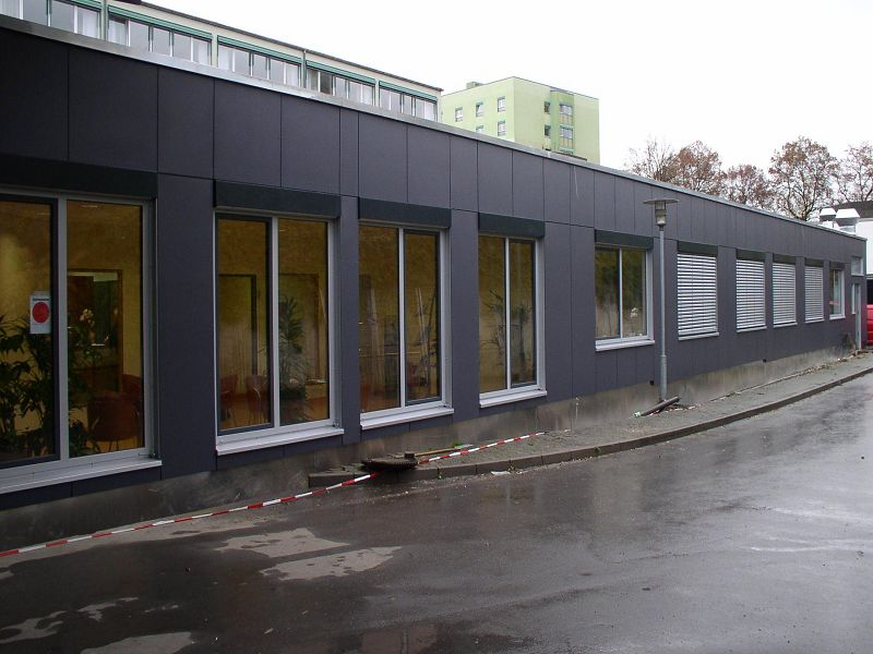 , Krankenhaus, Ehingen, Heinkel Modulbau