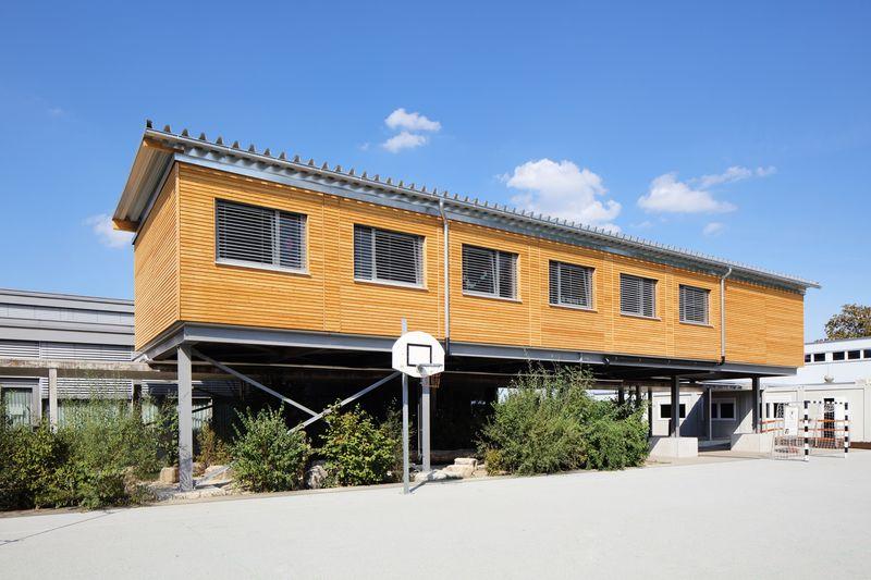, Schule Meiriacker, Binningen, Heinkel Modulbau
