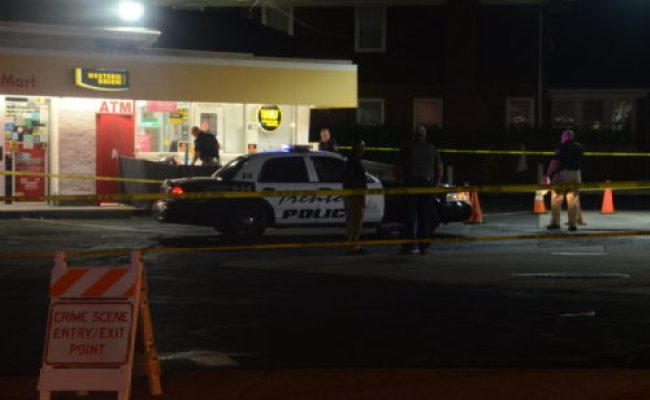 Two Men Shot Dead In Trenton Gas Station Parking Lot