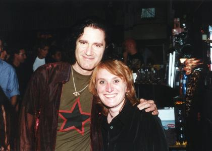 ...with Bruce Kulick (guit), October, 3rd 2000, Frankfurt