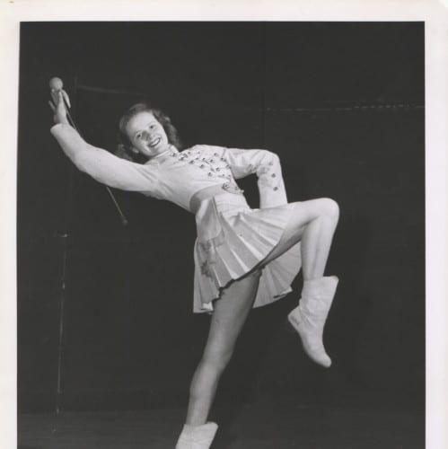Baton Twirler, 1959