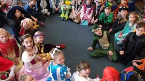 Unsere kleinen Märchenfiguren zum Fasching 2013