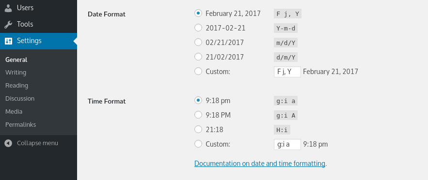 PHP date in French