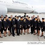 Lufthansa Flugbegleiter / Foto: Gregor Schlaeger Lufthansa 11.09.2007