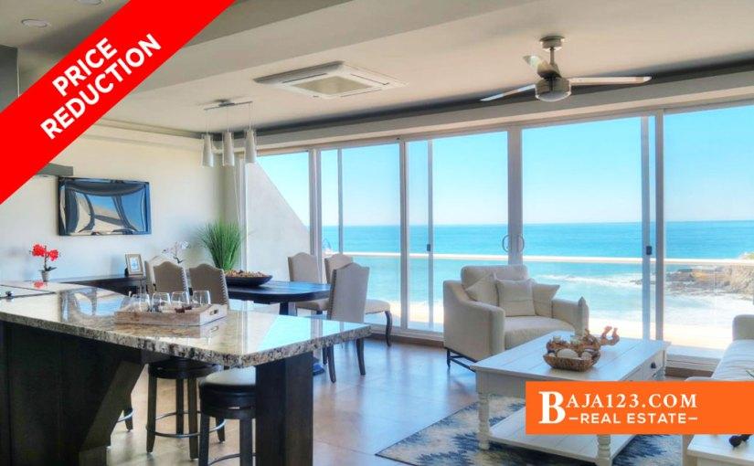 PRICE REDUCTION – Oceanfront Villa For Sale in La Jolla Excellence, Rosarito Beach – USD $591,800