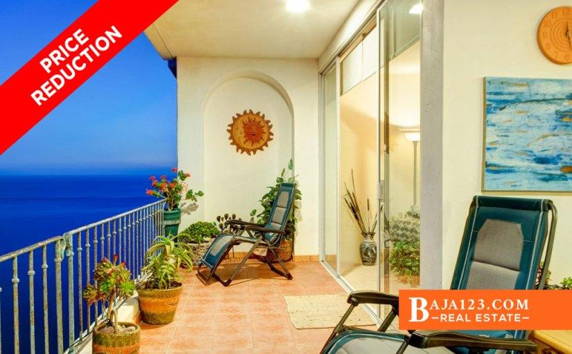 PRICE REDUCTION – Oceanfront Condo For Sale in Club Marena, Playas de Rosarito – USD $445,000