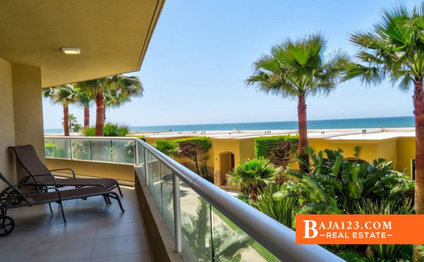 PRICE REDUCTION – Oceanfront Condo For Sale in La Jolla Real, Playas de Rosarito – $399,000 USD