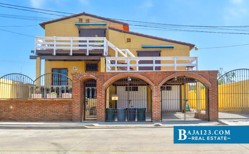 Ocean View Home For Sale in Reforma, Playas de Rosarito – USD $177,000