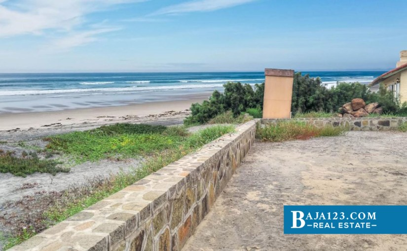 EXPIRED – Oceanfront Lot For Sale in La Mision, Ensenada – USD $434,000