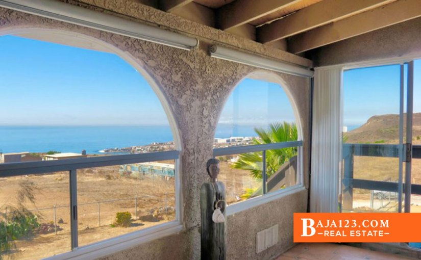FINANCING AVAILABLE – Ocean View Home For Sale in Terrazas del Pacifico, Playas de Rosarito – USD $239,000