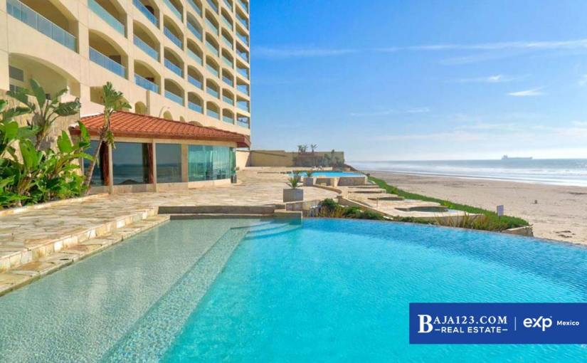 Oceanfront Condo For Sale in Las Olas Mar y Sol, Playas de Rosarito – $222,000 USD