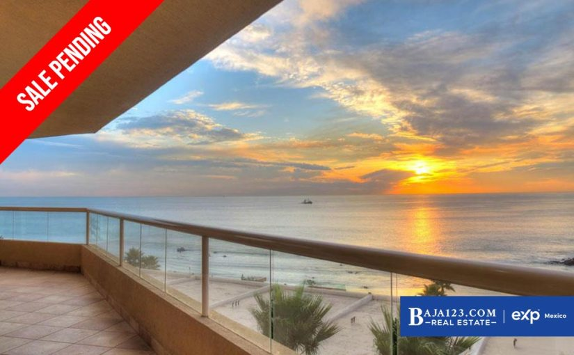 SALE PENDING – Oceanfront Condo For Sale in La Jolla Real, Playas de Rosarito – $275,000 USD