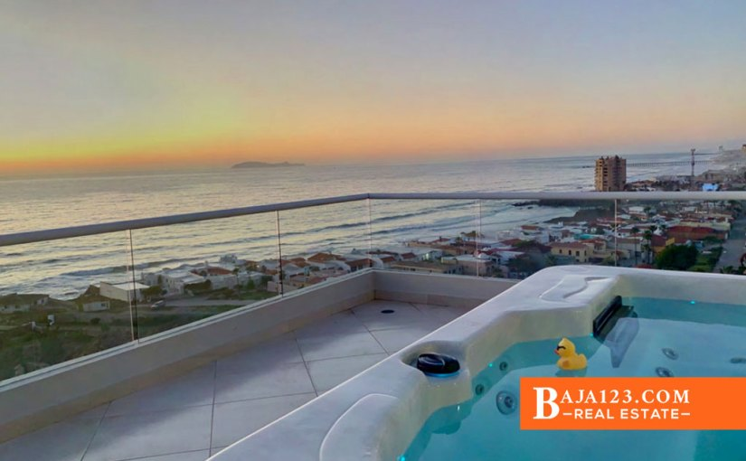 Oceanfront Condo For Sale in La Jolla Excellence, Playas de Rosarito – USD $694,999