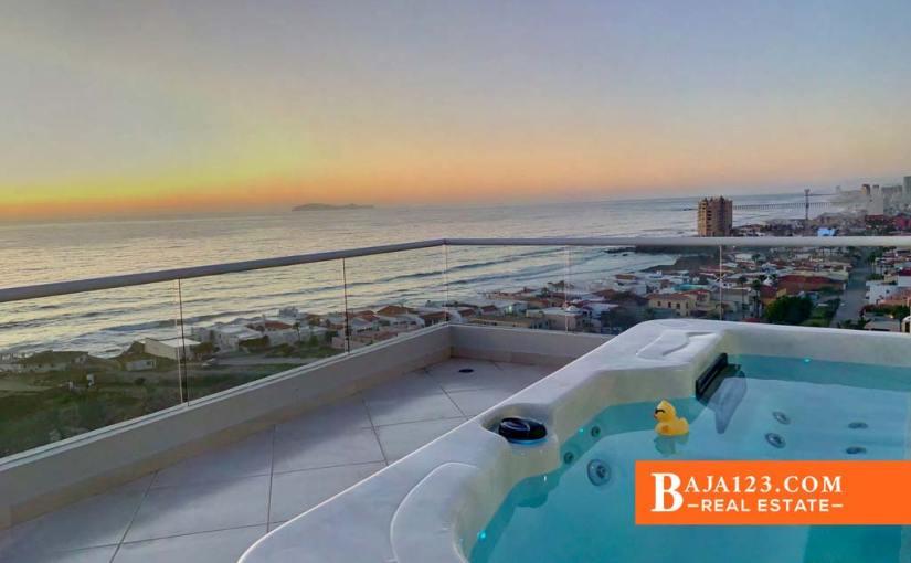 Oceanfront Condo For Sale in La Jolla Excellence, Playas de Rosarito – $694,999 USD