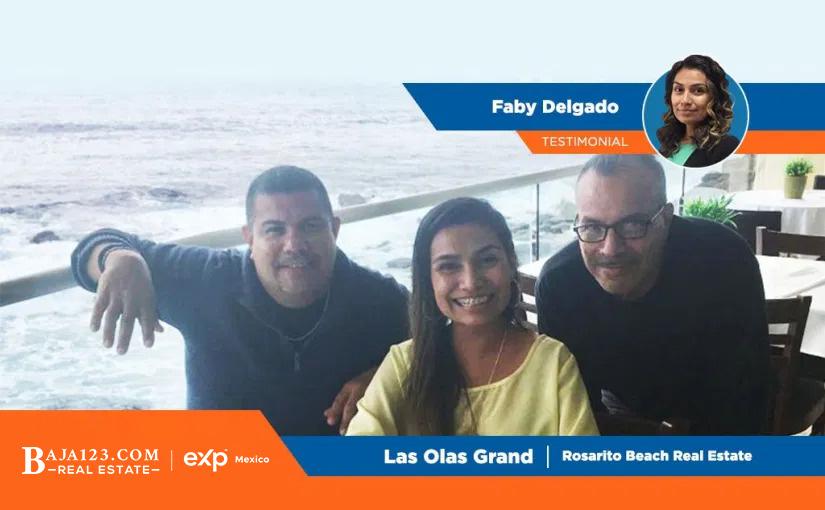 Faby Delgado Happy Client – Las Olas Grand, Rosarito Beach