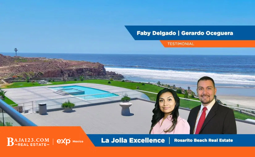 Very Satisfied Rosarito Beach Buyer – Testimonial for Gerardo and Faby