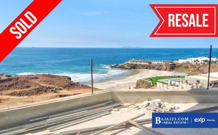 SOLD – Oceanfront Condo For Sale in La Jolla Excellence, Playas de Rosarito – $375,000 USD