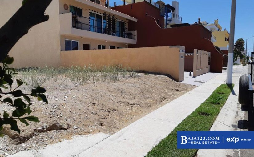 Ocean View Lot For Sale in Mision Viejo, Rosarito Beach – $91,500 USD