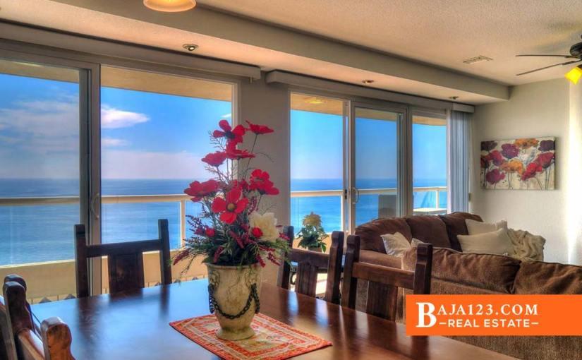 Oceanfront Condo For Sale in La Jolla del Mar, Rosarito – $285,000 USD