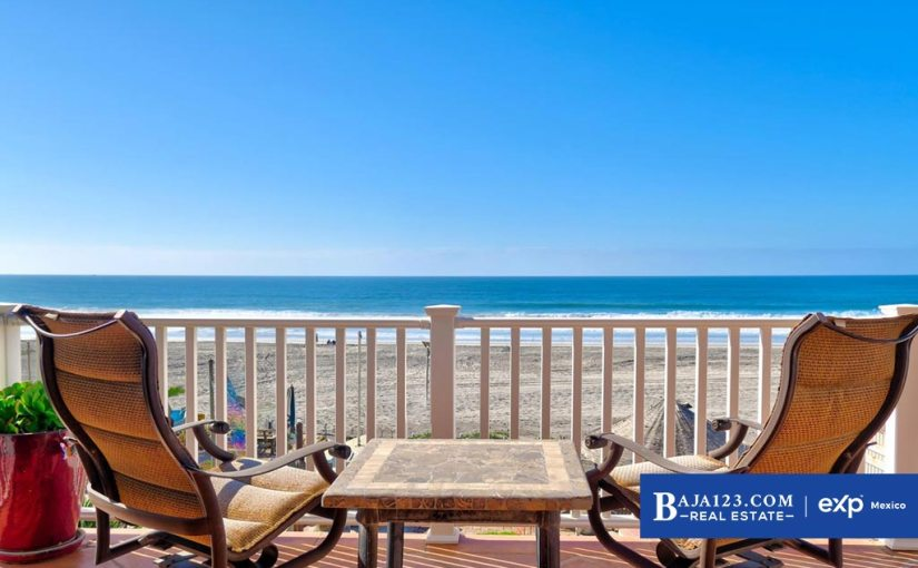 Oceanfront Home For Sale in Ricamar, Playas de Rosarito – $624,000 USD