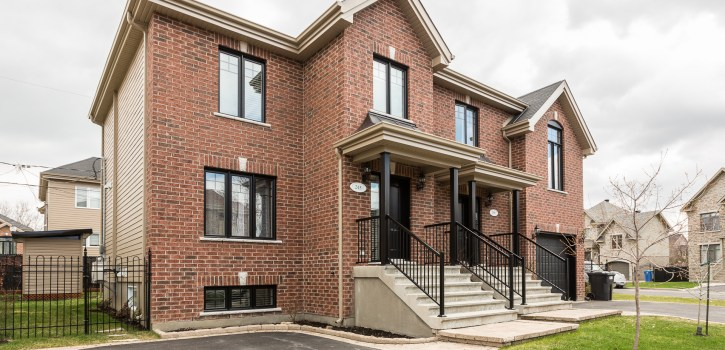 Home for sale - Sainte-Catherine - semi-detached.