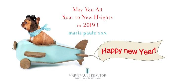 Happy New Year 2019 - mariepauleREALTOR