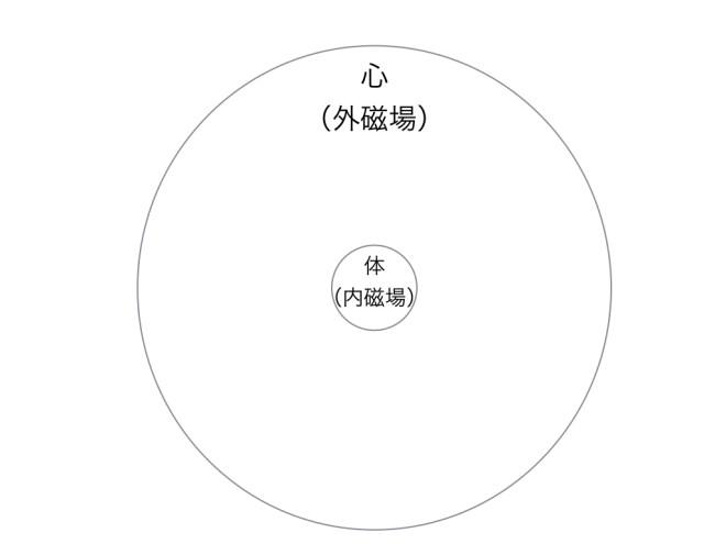 陰陽論 内磁場と外磁場図1.002