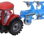 Traktor mit Anhänger 45 cm 4 fach sort.