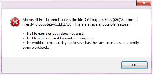 corrupt Excel file