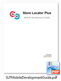 Store Locator Plus : Mobile Development Guide