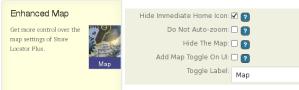 Enhanced Map Info Settings Banner