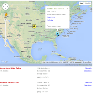 SLP UI : Map Info Bubble