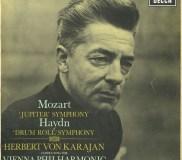 GB DECCA SXL6067 ヘルベルト・フォン・カラヤン モーツァルト・交響曲41番/ハイドン・交響曲103番