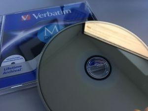 Datenarchivierung M-Disk von Verbartim