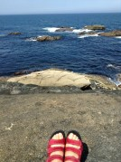 My official finish- Museo by the Sea (in new shoes)