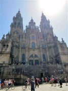 The official finish- the cathedral in Santiago