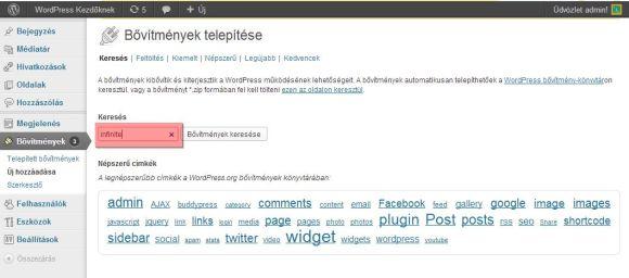 Telepítsd a WordPress alá az InfiniteWP kliensét