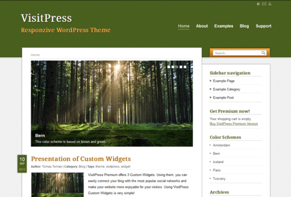 VisitPress WordPress sablon