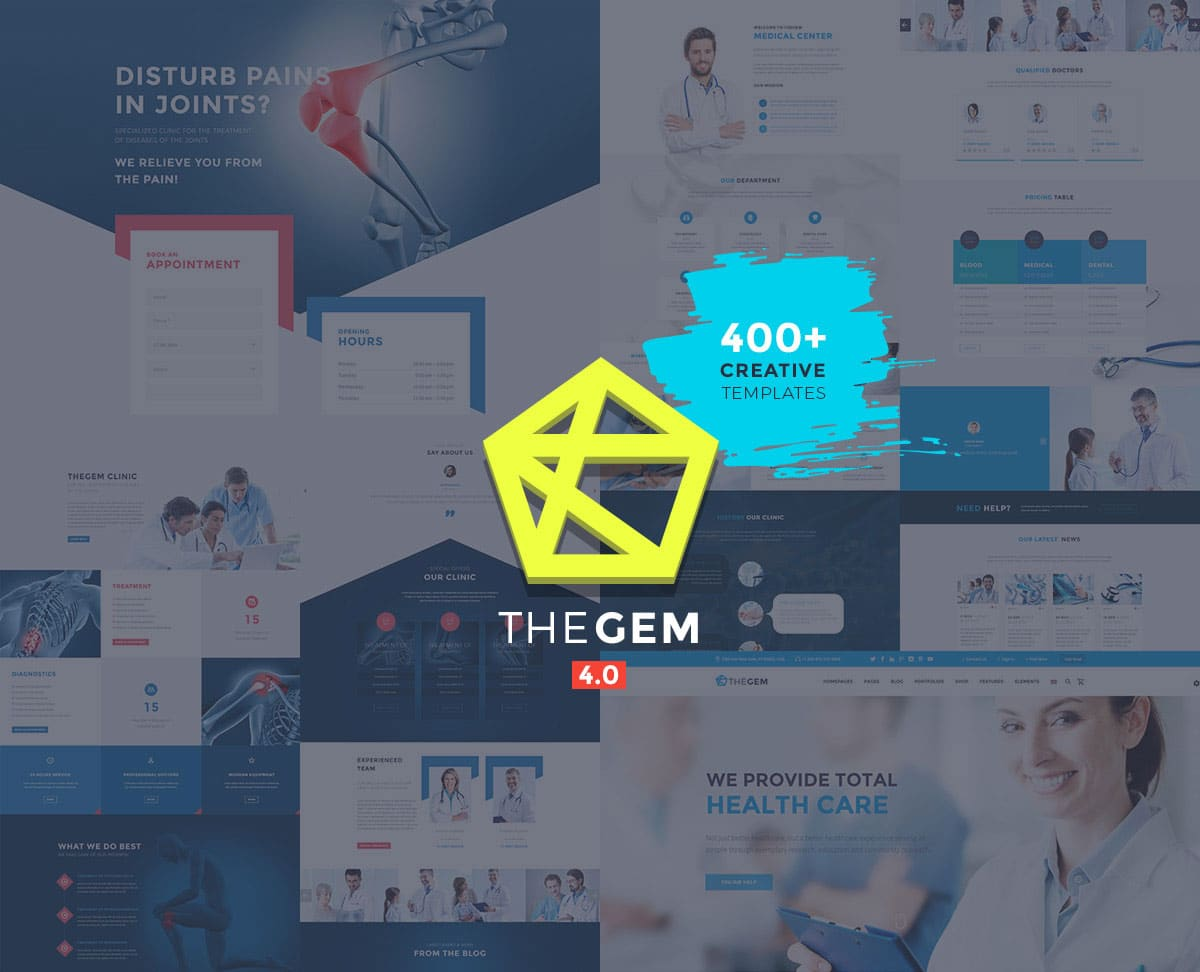 Best Health And Medical WordPress Themes 2019
