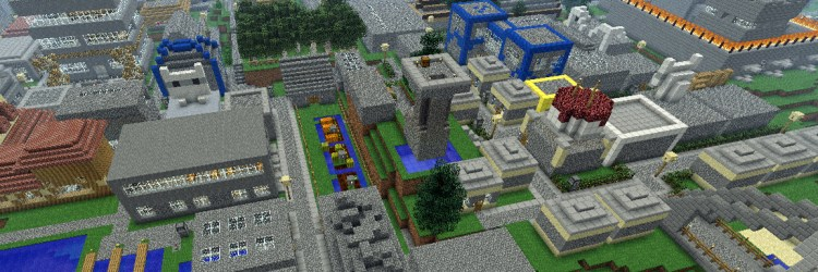 CobblStep City Minecraft Adventure Map WORDPUNCHER S VIDEO GAME EXPERIENCE