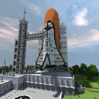 Minecraft Space Shuttle Base Map Download