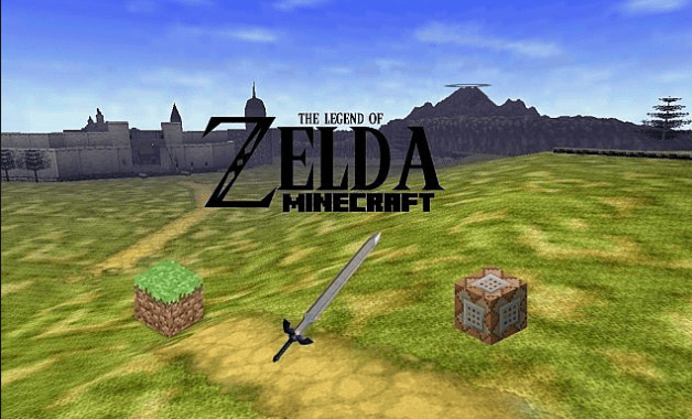 minecraft zelda adventure map download