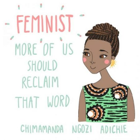 Happy African Feminist Who Does Not Hate Men