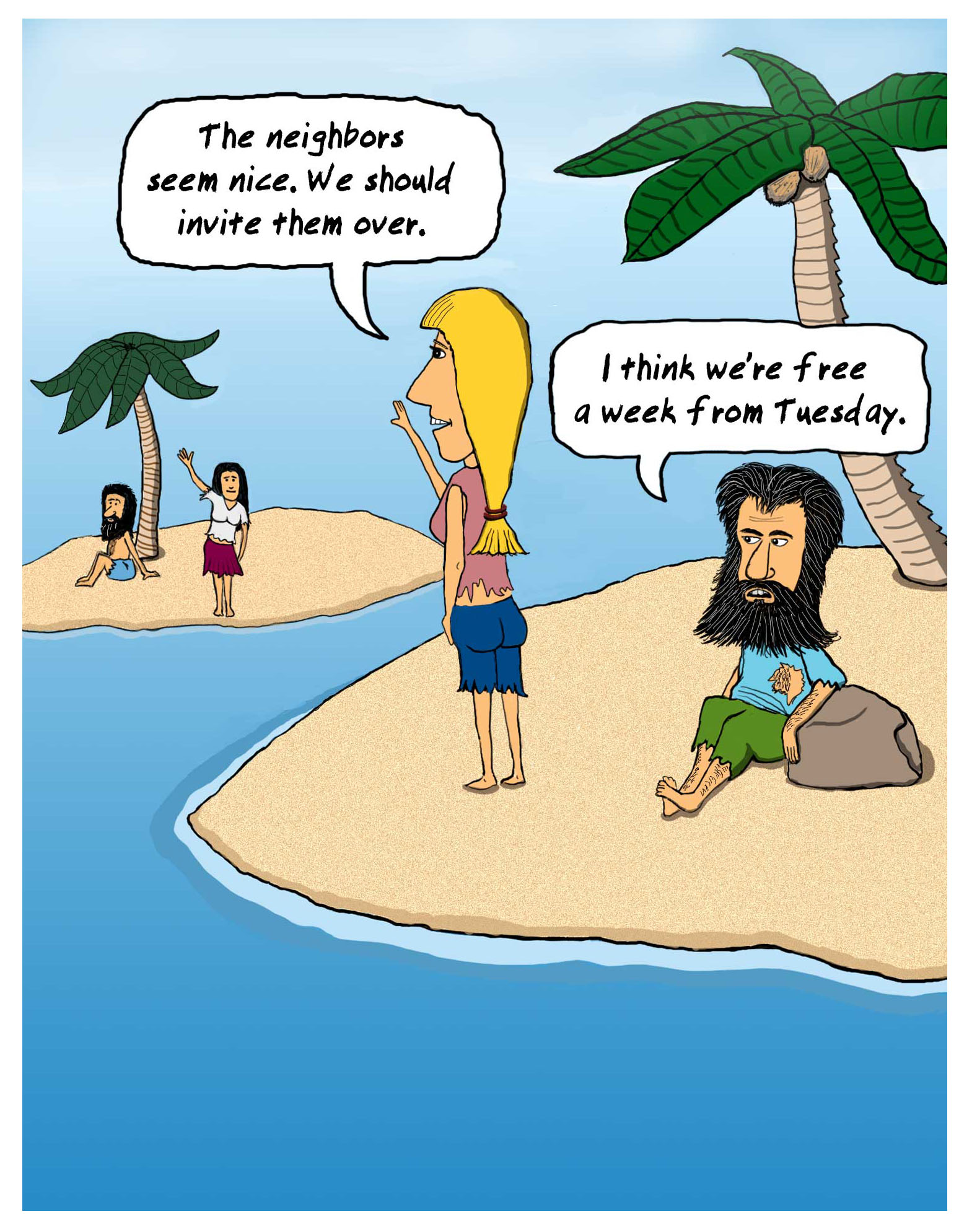 Island Cartoon