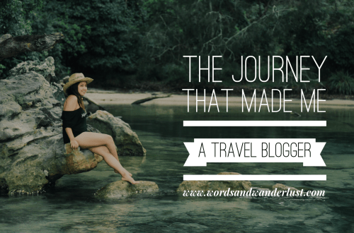 travel blogger - words and wanderlust