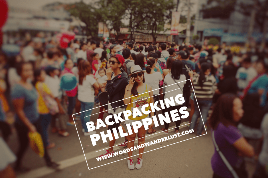 Backpacking Philippines - Words and Wanderlust