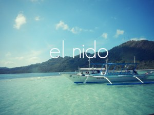 backpacking el nido