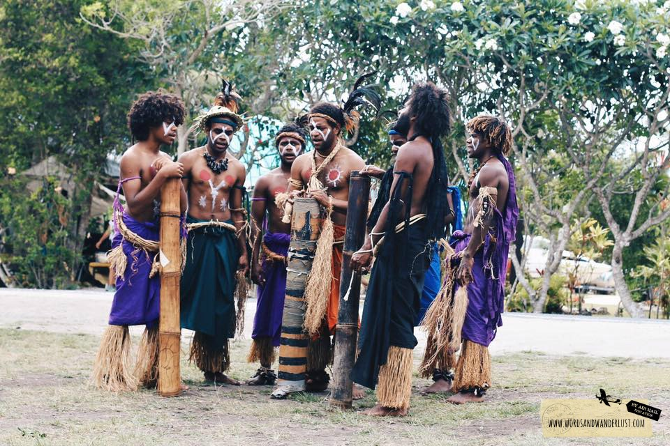 Tribal Dancers New Caledonia - Words and Wanderlust